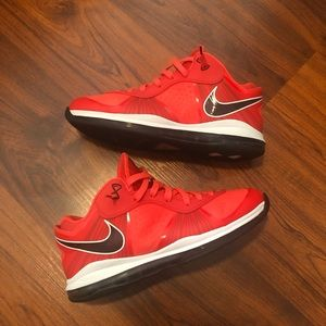 "Nike Lebron 8 V2 ""solar red"""